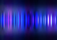 Blue motion blur striped background Royalty Free Stock Photos