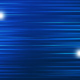Blue Motion Dynamic Horizontal Lines Royalty Free Stock Image