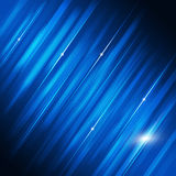Blue Motion Tech Background Stock Image