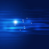 Blue Motion Technology Abstract Background Royalty Free Stock Photos