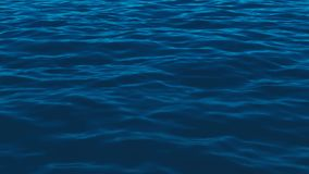 Blue water waves background. Blue motion water waves background stock video footage