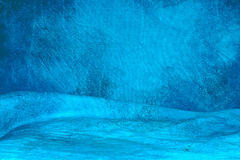 Blue mottled background. A blue mottled backdrop cloth with wrinkles Stock Photo