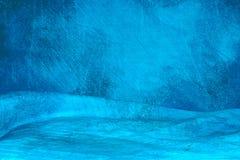 Blue mottled background Stock Photo