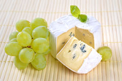 Blue mould cheese Stock Photos