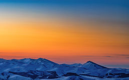 blue mountain Obrazy Royalty Free