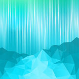 Blue Mountain abstract background Royalty Free Stock Photo