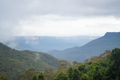 Blue Mountain Australia Royalty Free Stock Photos