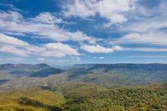The Blue Mountain - Australia Royalty Free Stock Photos
