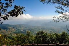 blue mountain krajobrazu niebo Zdjęcie Royalty Free