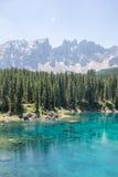 Blue mountain lake Stock Images