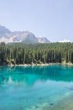 Blue mountain lake Stock Image