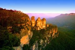blue mountain nsw australii Obraz Stock