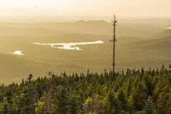 Blue Mountain Radio Tower Royalty Free Stock Image