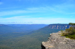 Blue Mountain 3. Blue mountain view taken from flat rock Royalty Free Stock Image