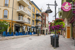 Blue Mountain Village in summer, Collingwood, Canada Stock Image