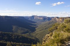 Blue Mountains Royalty Free Stock Images