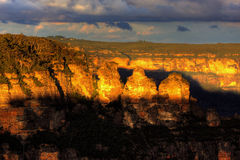 The Blue Mountains Royalty Free Stock Photo