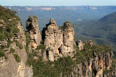 Blue Mountains Australia Royalty Free Stock Photography