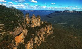 The Blue Mountains Stock Photo