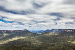 Blue Mountains in Australia Royalty Free Stock Photography