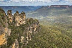 Blue Mountains in Australia Stock Image