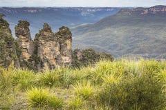 Blue Mountains in Australia Royalty Free Stock Photos
