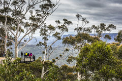 Blue Mountains in Australia Royalty Free Stock Image