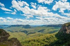 The Blue Mountains Australia Stock Image