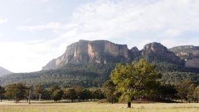 Blue Mountains Australia time lapse stock video
