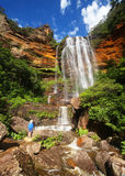 The Blue Mountains in Australia Royalty Free Stock Photography