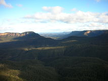 Blue mountains. Australien australia blue mountains Three sisters Royalty Free Stock Images