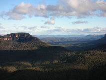 Blue mountains. Australien australia blue mountains Three sisters Stock Photos