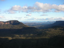 Blue mountains. Australien australia blue mountains Three sisters Royalty Free Stock Photos