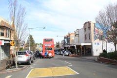 Blue Mountains Explorer Bus in Katoomba Royalty Free Stock Photos