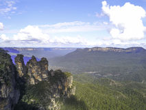 Blue Mountains, Katoomba, NSW, Australia Royalty Free Stock Photo