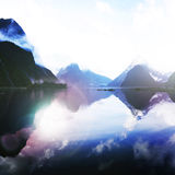 Blue Mountains Milford Sound Travel Destination Concept Royalty Free Stock Images