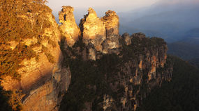 The Blue Mountains National Park in New South Wales, Australia Stock Image