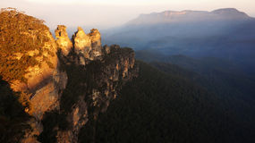 The Blue Mountains National Park in New South Wales, Australia Stock Photography