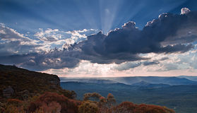 Blue mountains national park, Sydney Stock Photography