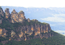 Blue Mountains Royalty Free Stock Photo