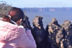 Blue Mountains Royalty Free Stock Photography