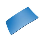 Blue mousepad Stock Photos