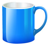 A blue mug Royalty Free Stock Photo