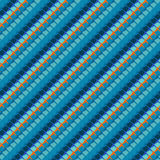 Geometric linear stiched pattern Stock Photography
