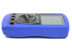 Blue multimeter Stock Photography