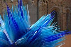 Blue Murano glass Stock Photos