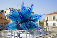 Blue Murano glass Royalty Free Stock Image