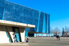 The Blue Museum in Barcelona, Spain. Stock Photo