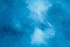 Blue muslin background. Stock Photos