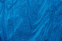 Blue nail polish texture Stock Photos